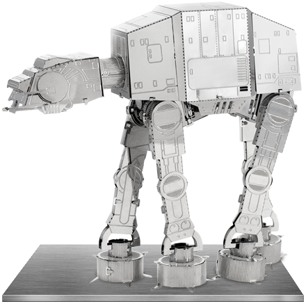 Metal Earth Star Wars AT-AT 3D Model Kit by Fascinations®