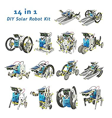 14 In 1 DIY Solar Robot Kit