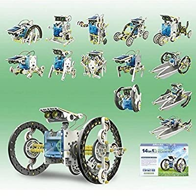 14 in 1 Solar Robot Educational Solar Robot Kit