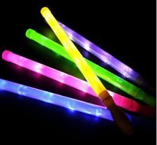"19"" Flashing Light-Up Saber Wand with Different Light-Up Settings (Assorted Colors)"