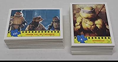 1990 Topps Tmnt Trading Card Factory Set (132) Cards Teenage Mutant Ninja Turtles Movie Non-sport