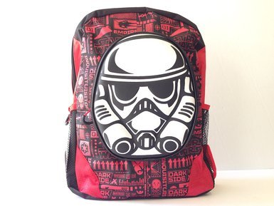 "2015 New Star Wars 3D Large 16"" Backpack"