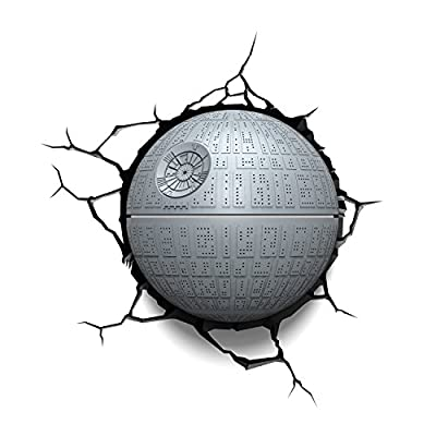 3D Light FX Star Wars Death Star 3D Deco LED Wall Light