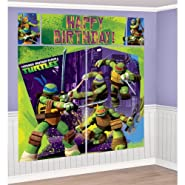 5-Piece Set Teenage Mutant Ninja Turtles Scene Setter, Multicolored