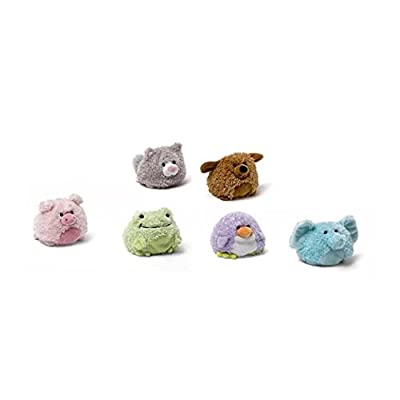 6 Gund Dollops Plush Beanbag Animals