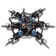 Adeept Hexapod 6-Legs Spider Robot Kit for Arduino UNO R3 and Nano | 2.4G Wireless Remote Control | Obstacle Avoidance | Robot Starter Kit, Arduino Robotics Model, Arduino Starter Kit with Tutorial
