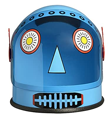 Aeromax Robot Helmet has a retro look and is tons of fun for kids