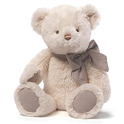 Amandine Bear Chime Toy (Cream) by Gund