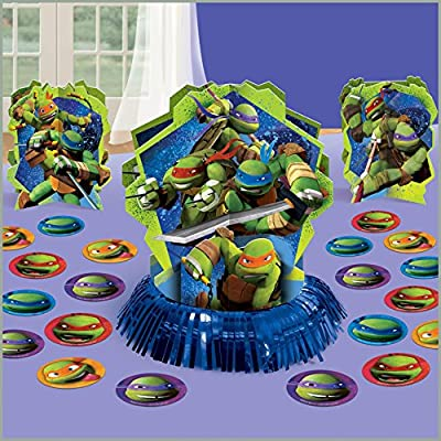 Amscan - Teenage Mutant Ninja Turtles Table Decorating Kit