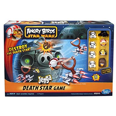 Angry Birds Star Wars Fighter Pods Jenga Death Star