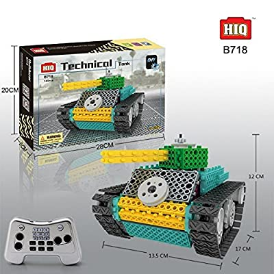 BAA SHOP Remote Control/rc Tank Construction Toy kit RC Kids Electric DIY Robot for Kids/Toddlers