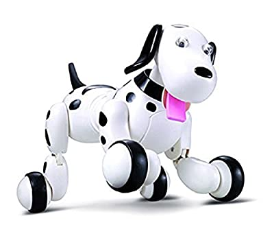 Babrit Wireless Remote Control Smart Dog Electronic Pet Educational Children's Toy Dancing Robot Electric Dog