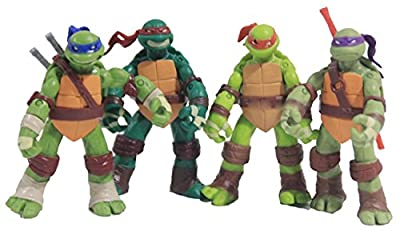 Benjour Teenage Mutant Ninja Turtles Classic Collection 12cm Figure 4pcs Set