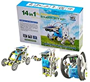 Bo Toys 14-in-1 Solar Robot Science Education Assembly Kit