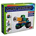 Brain Crunch SM1702 Smart Machines Remote Control Toy Building Robot Kit - Green Edition