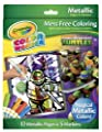 Crayola Color Wonder Teenage Mutant Ninja Turtles Metallic Paper and Markers