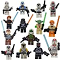 DESO® [3 days to delivered] 14 Pcs Lego Compatible super hero Figures STAR WARS FIGURES 14 Pcs - Characters with ORIGINAL BOX