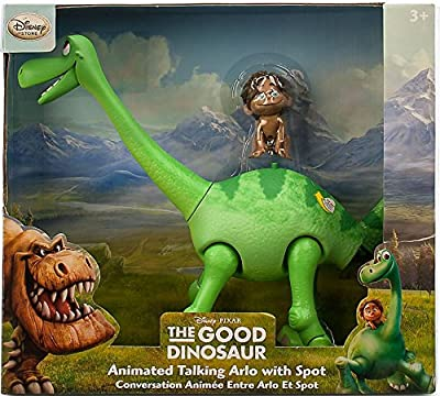 Disney Arlo Animated Talking Figure with Spot - The Good Dinosaur