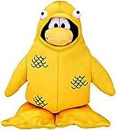 Disney Club Penguin 6.5 Inch Series 4 Plush Figure 12th Fish Costume (Include...