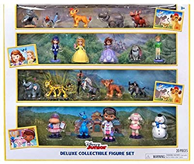 Disney Junior Deluxe Collectible Exclusive Figure Set