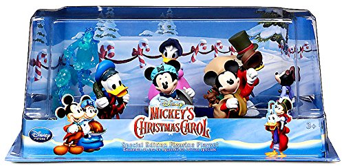 disney mickeys christmas carol figure play set 6 figures - Mickeys Christmas Carol