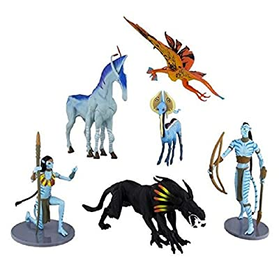 Disney Parks Avatar Na'vi Collectible Figures