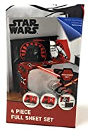 Disney Star Wars Episode VII Kylo Ren Deluxe Microfiber Sheet Set - Full