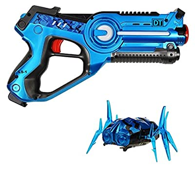 Dynasty Toys Laser Tag Blaster and Robot Nano Bug Striker