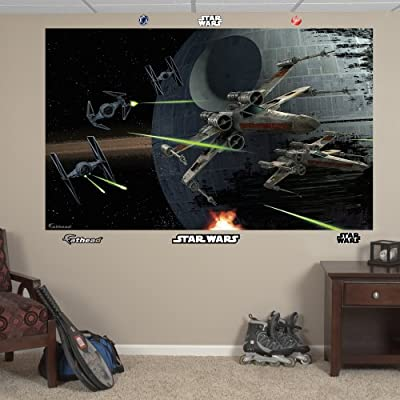 "Fathead Wall Decal, ""Space Battle Mural"""
