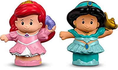 Fisher-Price Little People Disney Princess Ariel & Jasmine Figure