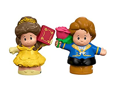 Fisher-Price Little People Disney Princess Belle & Prince Figure