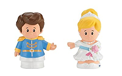 Fisher-Price Little People Disney Princess Cinderella & Prince Charming Figures