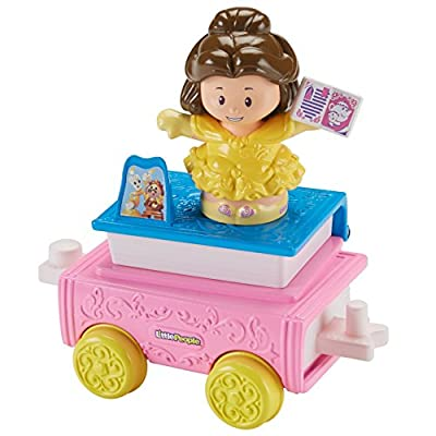 Fisher-Price Little People Disney Princess Parade Belle & Chip's Float