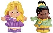 Fisher-Price Little People Disney Princess Rapunzel & Tiana Figures