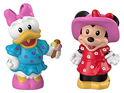 Fisher-Price Magic of Disney Minnie & Daisy Buddy Pack by Little People