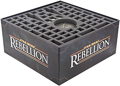 Foam trays and storage boxes for Star Wars Rebellion board game box