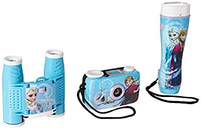 Frozen 3-Piece Adventure Kit with Camera, Flashlight and Binoculars