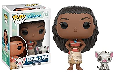Funko POP Disney: Moana - Moana & Pua Action Figure