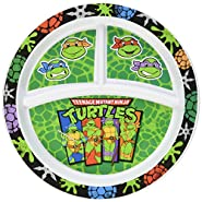 Gerber Graduates Nickelodeon Teenage Mutant Ninja Turtles Divided Plate