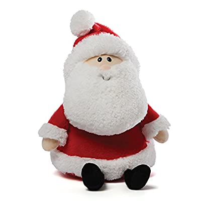 Gund 4048298 Santy Claus Christmas Stuffed Animal Plush, 14-Inch