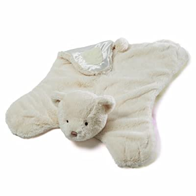Gund Amandine Teddy Bear Comfy Cozy Baby Blanket (Discontinued by Manufacturer)