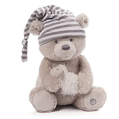 Gund Baby Animated Stuffed Teddy Bear, Sleepy Time