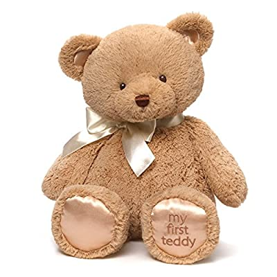 Gund Baby Gund My 1st Teddy Plush Toy, 18""