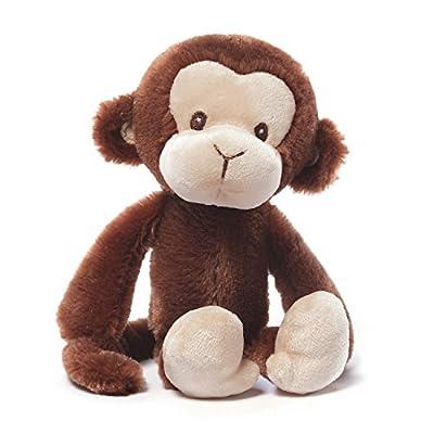 Gund Baby Nicky Noodle Stuffed Monkey Baby Rattle