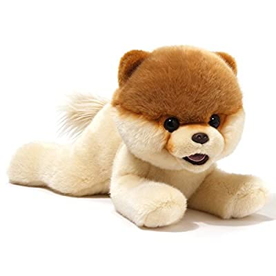 Gund Boo The World's Cutest Dog from Gund Laying Down Plush