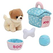 Gund Boo The World's Cutest Dog House Playset Toy Plush
