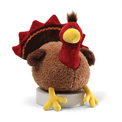 "Gund Fun Thanksgiving Li'l Stuffing Turkey 8"" Plush"