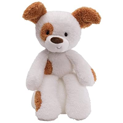 "Gund Fuzzy Spotted Dog 13.5"" Plush"