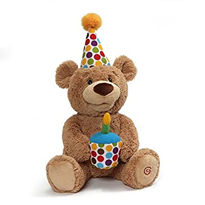 Gund Happy Birthday Plush Teddy Bear Stuffed Animal Toy