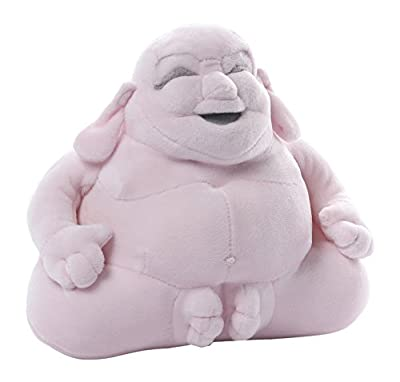 GUND Huggy Buddha Pink Plush, 7.5 inches